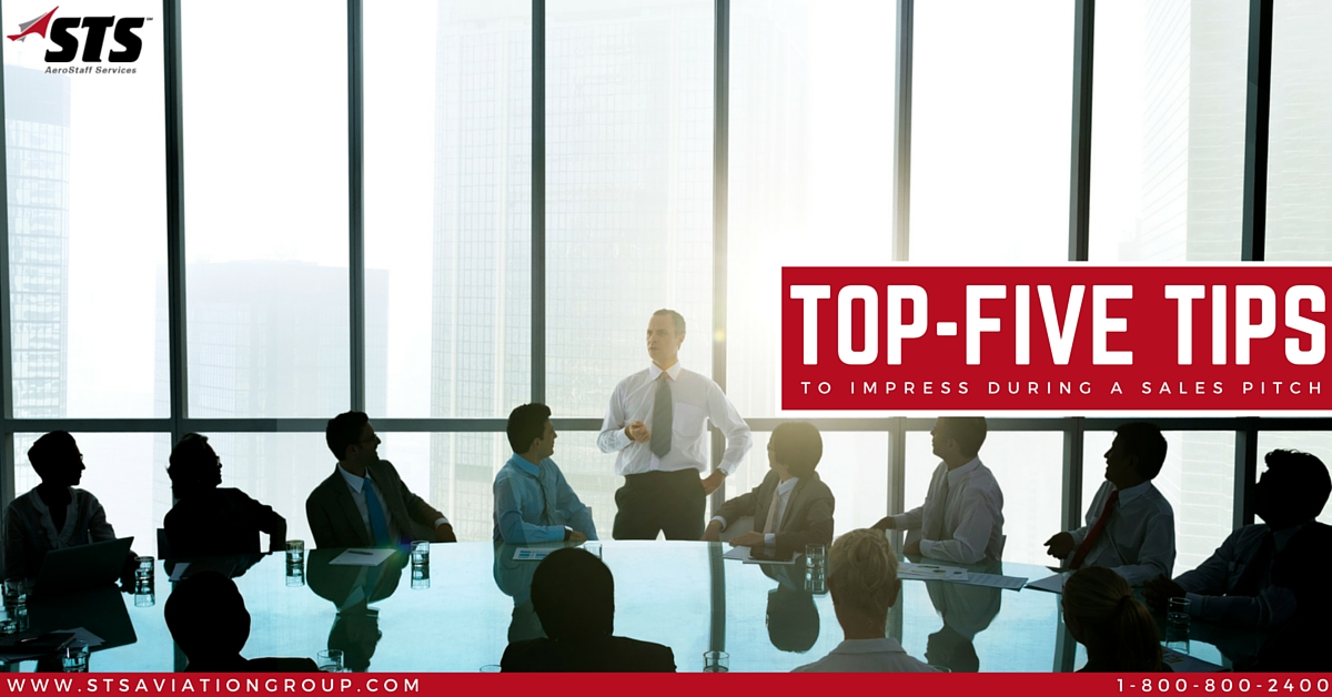 Top Five Tips to Impress During a Sales Pitch
