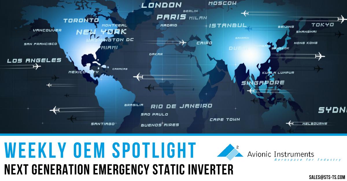 Next Generation Emergency Static Inverter - Avionic Instruments