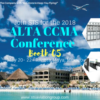 STS Aviation Group Flies South for the CCMA & MRO Conference in Mexico