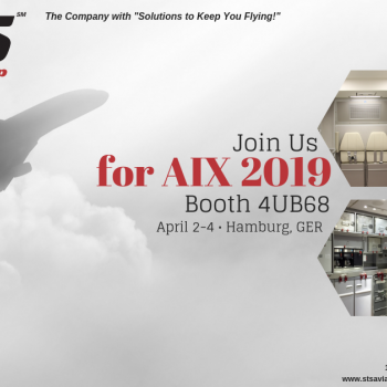 STS Aviation Group Takes Off for the 2019 Aircraft Interiors Expo