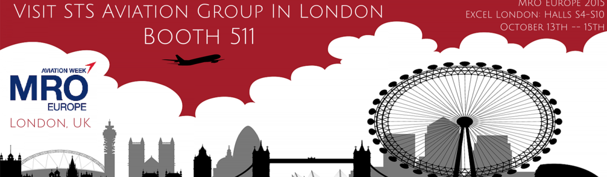 STS Aviation Group Invites You to Join Us at MRO Europe in London