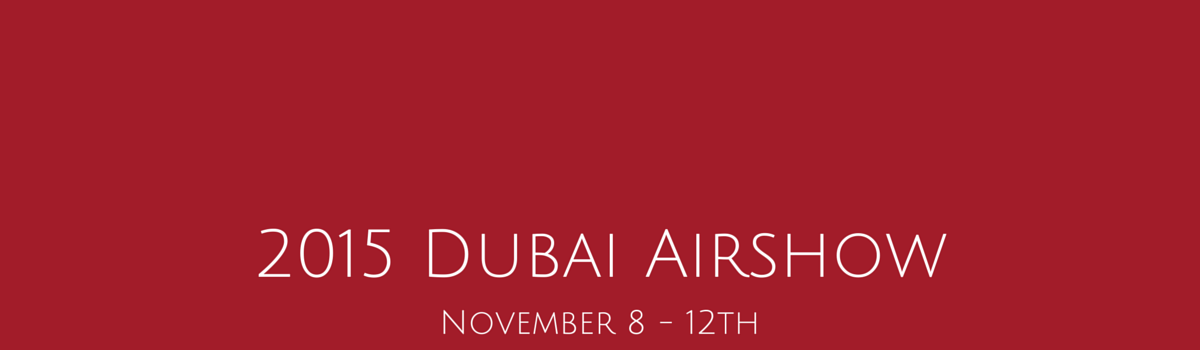 STS Aviation Group Will Touch Down at the 2015 Dubai Airshow