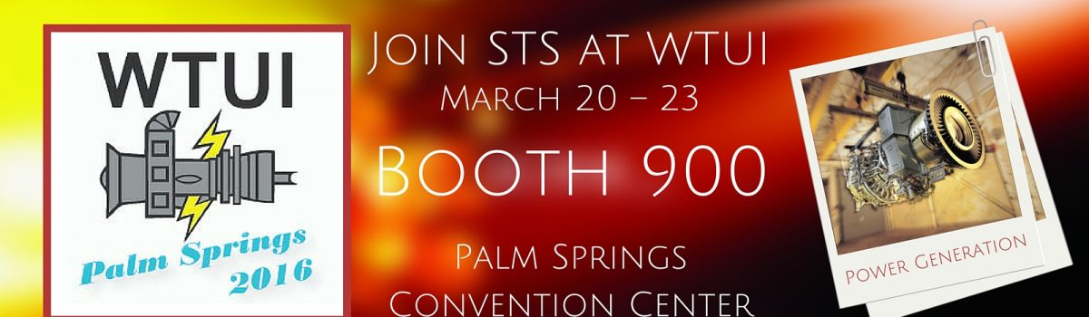 STS Component Solutions Set to Exhibit at Western Turbine Users Inc. Conference