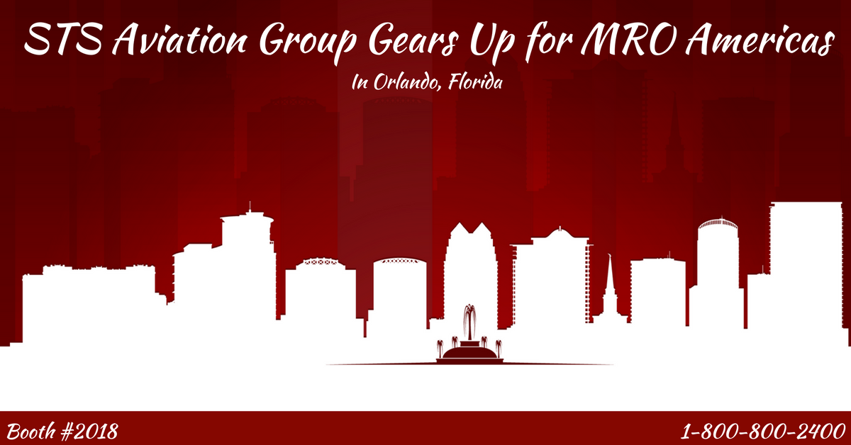 STS Aviation Group Gets Ready for MRO Americas in Orlando