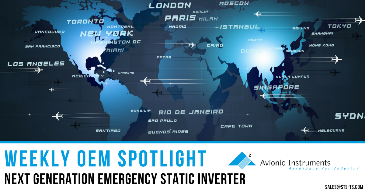 Next Generation Emergency Static Inverter - Avionic Instruments