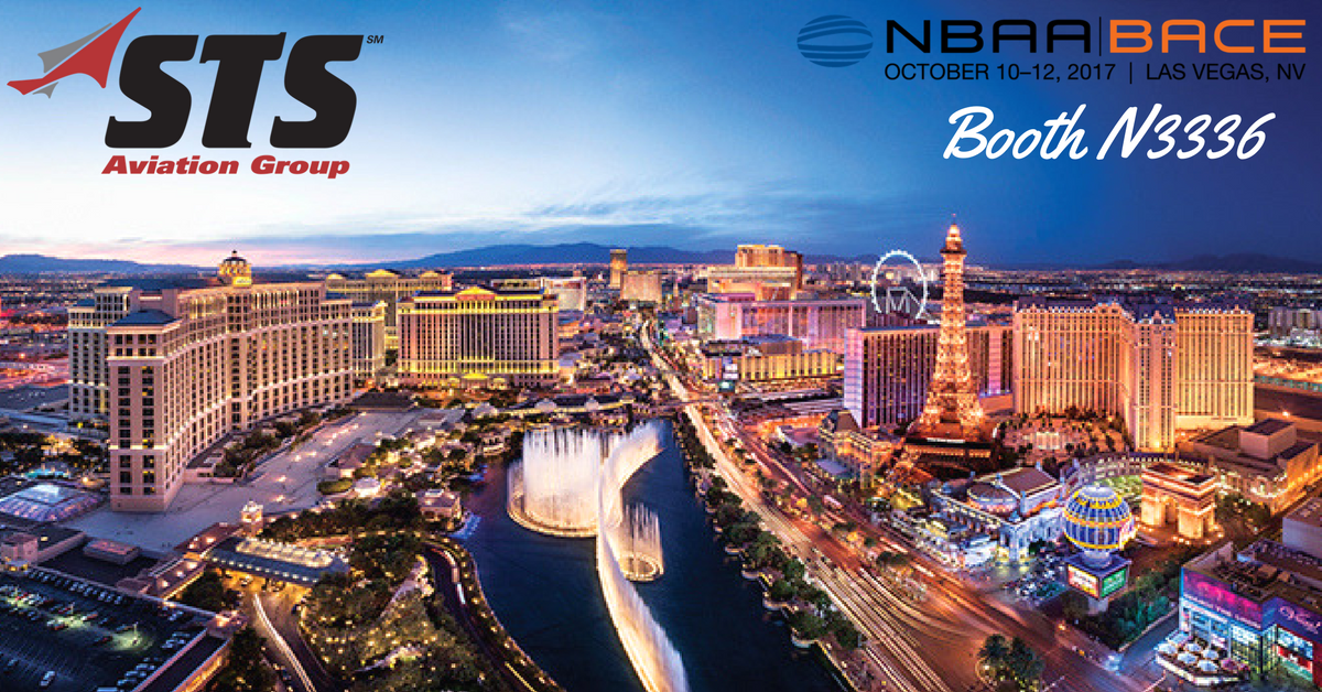 STS Aviation Group Takes Off for the 2017 NBAA-BACE