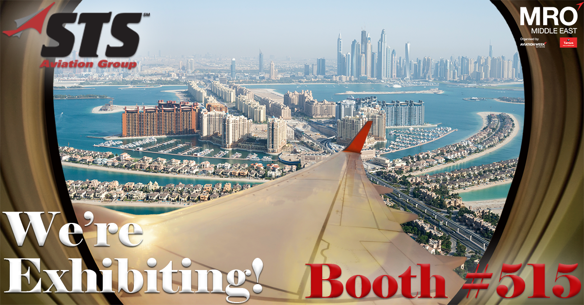 STS Aviation Group Set to Exhibit at MRO Middle East 2018