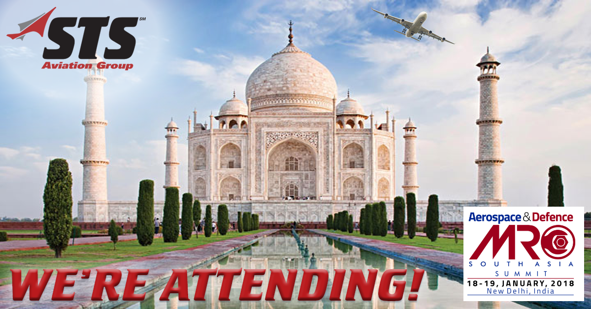 STS Aviation Group Gears Up for MRO South Asia Summit!