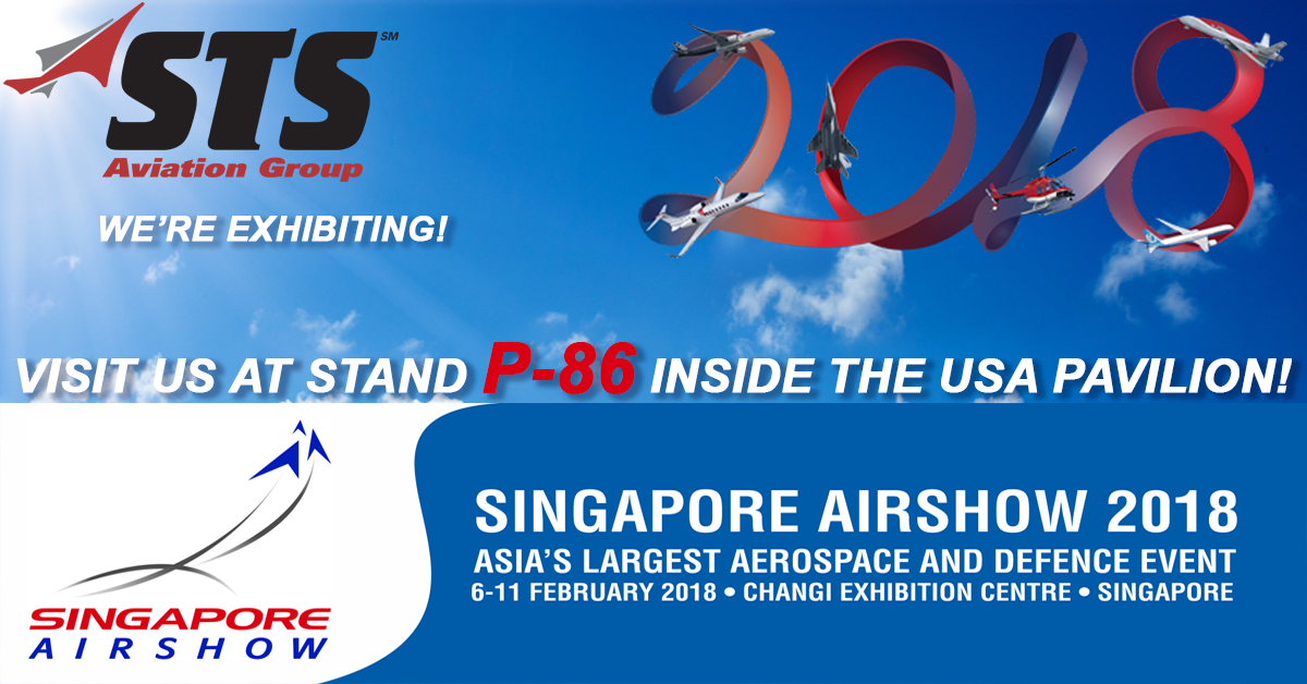 STS Aviation Group Flies to the 2018 Singapore Airshow