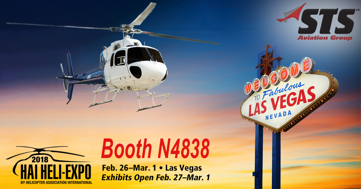 STS Aviation Group Readies for 2018 HAI Heli-Expo in Las Vegas!