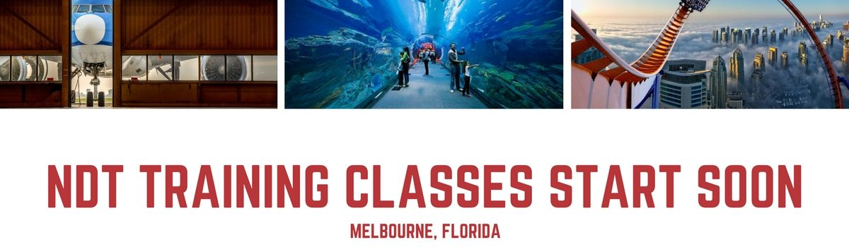 Two-Day NDT Certification Classes Kicking off in Melbourne, Florida