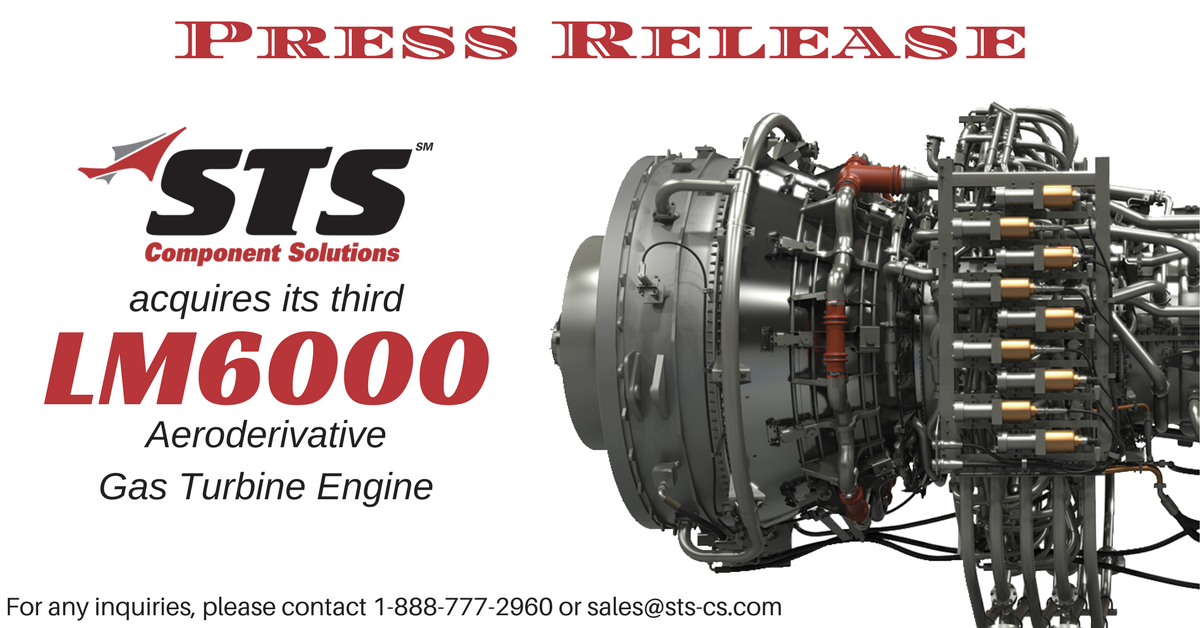 STS Component Solutions Acquires LM6000 Engine