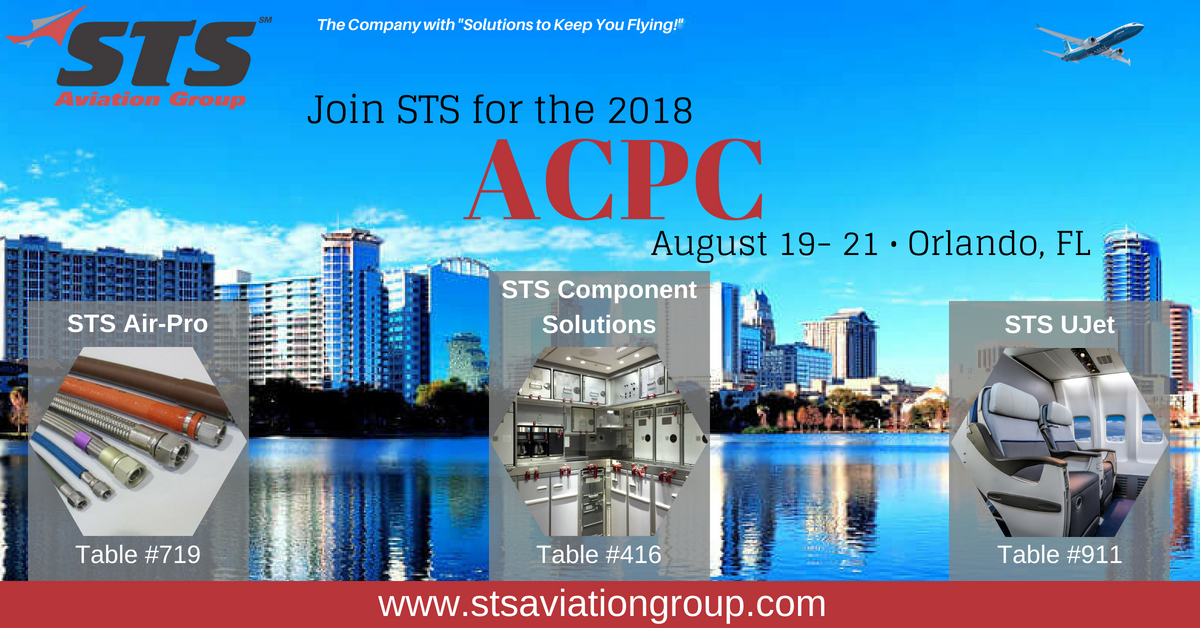 STS Aviation Group Takes Off for the 2018 ACPC
