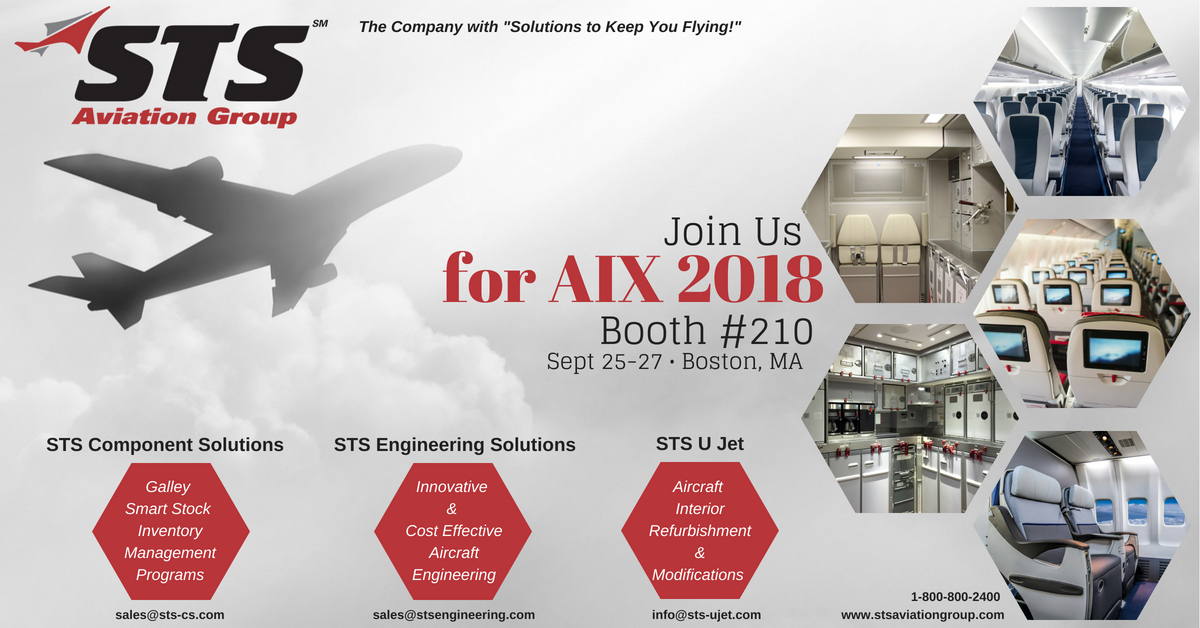 STS Aviation Group Set to Exhibit at the 2018 AIX Americas