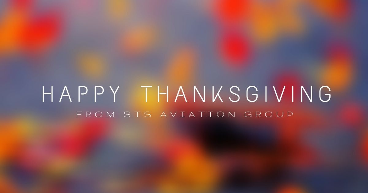 Happy Thanksgiving from STS Aviation Group
