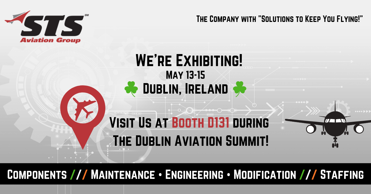 STS Aviation Group Takes Off for the 2019 Dublin Aviation Summit!