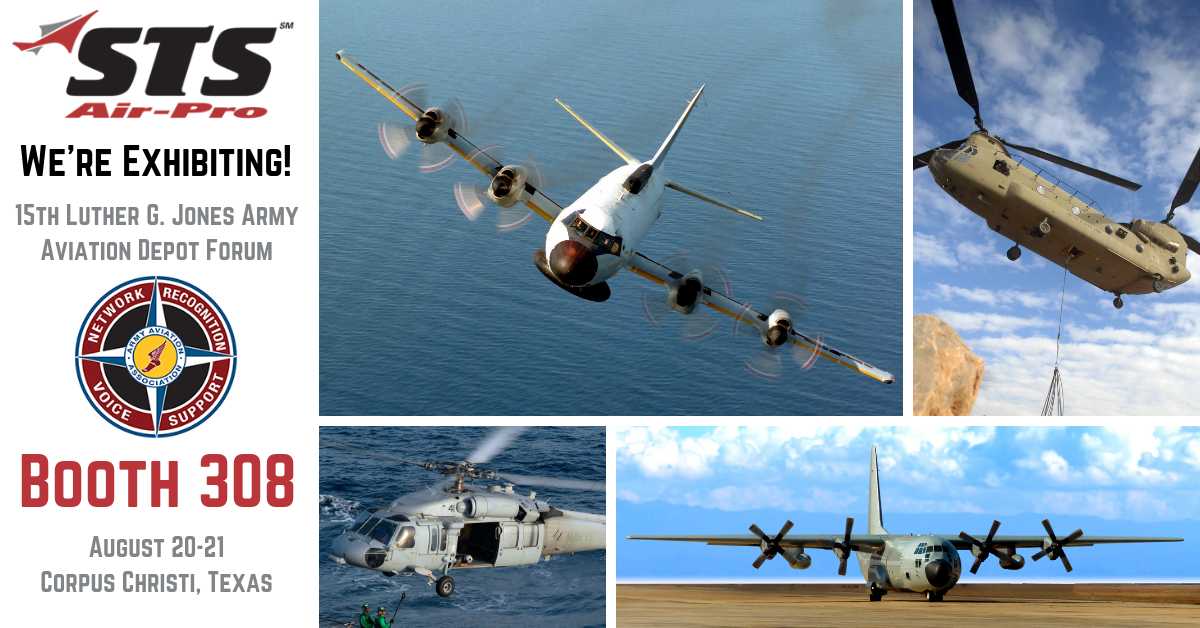 STS Aviation Group to Exhibit at 15th Luther G. Jones Army Aviation Depot Forum!