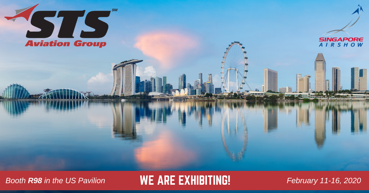 STS Aviation Group Takes Off for the Singapore Airshow