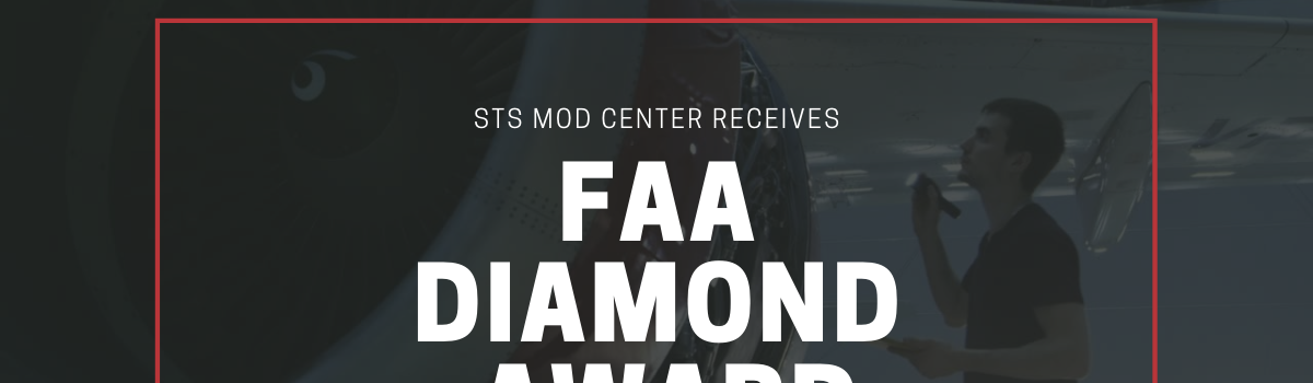STS Mod Center Receives FAA Diamond Award for Third Consecutive Year