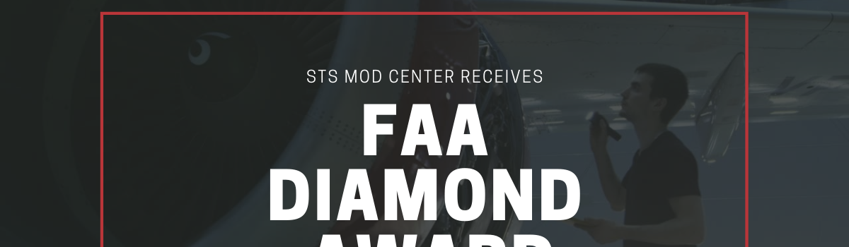 STS Mod Center Receives FAA Diamond Award for Fourth Consecutive Year