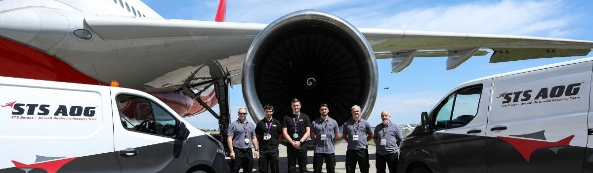 STS Aviation Services Deploys European AOG Services