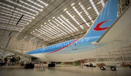 Commercial Aircraft Activity Recommences at STS Aviation Services Facility at BHX (2)
